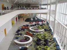 James B. Hunt Jr. Library, North Carolina State University, Raleigh.
