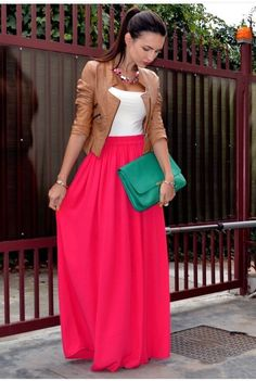 How To Wear Maxi Skirt....Some Outfit Ideas.If you find it useful then please like. Follow me for more tips. Thank you.