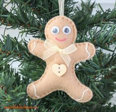 Fieltro Adornos para árboles de Navidad