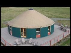 Brilliant Yurt Design! - Mixing Tradition with Super Modern Construction - YouTube