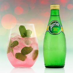PERRIER Down the Riviera Mix up a Down The Riviera with your favourite flavour of PERRIER at your next summer soiree!