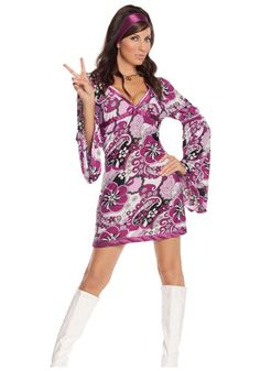 Sexy Vintage Go Go Dancer Costume  Product # EG9586  $34.99