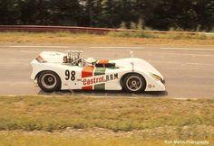George Eaton - BRM Chevrolet - British Racing Motors - 1970 Can-Am Watkins Glen - Canadian-American Challenge Cup, round 3 Sports Car Racing, Sport Cars, Auto Racing, Road Racing, Motor Sport, Course Automobile, Mid Ohio, Vintage Race Car, Vintage Auto