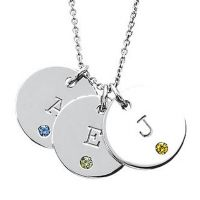 Birthstone charms by Posh Mommy. We sell Posh Mommy jewelry at Futer Bros. http://www.futerbrosjewelers.com/