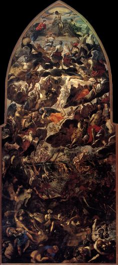 TINTORETTO The Last Judgment 1560-62 Oil on canvas, 1450 x 590 cm Madonna dell'Orto, Venice