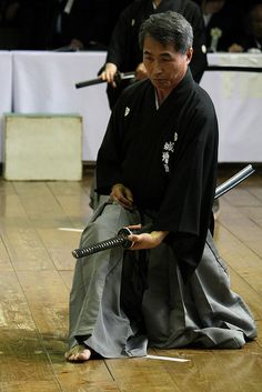 Iaido Enbu / 居合道 演武 by oroshi, via Flickr