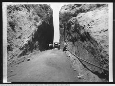 Newhall Pass, 1906