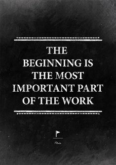 Always has been. Always will be. #beginning #work