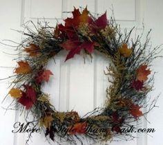 Pretty wreath project!