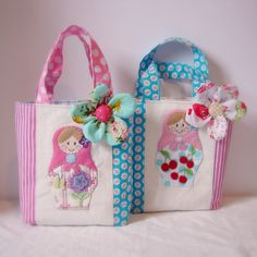 Roxy Creations: New matryoshka bags
