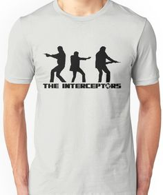 The Interceptors (black version) - Top Gear Unisex T-Shirt