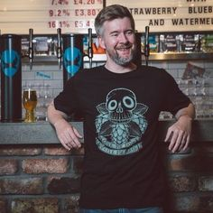 Give Me Hops or Give Me Death T-Shirt - Clothing direct from the official BrewDog online store today