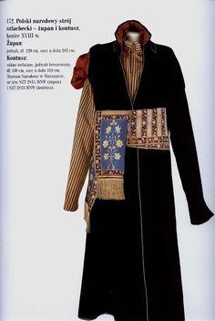 Польский национальный шляхетский костюм - жупан и кунтуш, конец XVIII в Галерея сарматского портрета. Польский костюм XVII-XVIII вв.