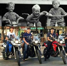 Kids Motorcycle, Biker, Fictional Characters, Tattoo, Faith In God, Sportbikes, Cars, Sink Tops, Dreams