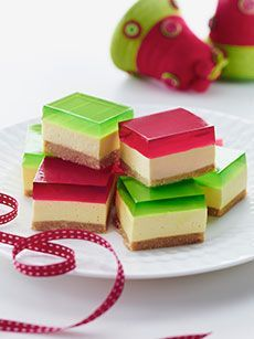 A perennial favourite, these scrumptious jelly belly cheesecake slices will always leave guests wanting more!