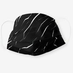 Modern Unique White Black Marble Pattern Cloth Face Mask nursing med surg, atropine nursing, thermoregulation nursing #Nursingstudies #nursingschool #nursingshirt, back to school, aesthetic wallpaper, y2k fashion