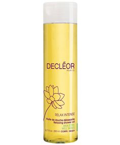 Relax Intense Shower Oil, Decléor. Shop more bath and body products from the Decléor collection online at Liberty.co.uk