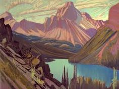 Lake OHara and Cathedral Mountain - MacDonald, James E. (Canadian, 1873 - Fine Art Reproductions, Oil Painting Reproductions - Art for Sale at Galerie Dada Group Of Seven Artists, Group Of Seven Paintings, Tom Thomson, Emily Carr, Canadian Painters, Canadian Artists, Most Famous Artists, National Art, Oil Painting Reproductions