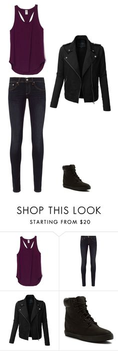 """""""Untitled #101"""" by hannahchristine18 on Polyvore featuring rag & bone, LE3NO and Timberland"""