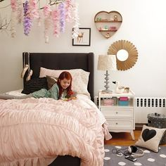 I Heart Bedding in Girl Bedding | The Land of Nod