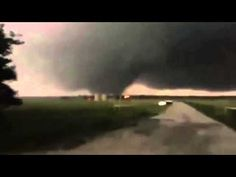Incredible Large Tornado west of Sanger, Texas | May 7, 2015