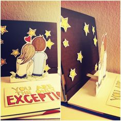 Pop up book! Gonna try to make this.