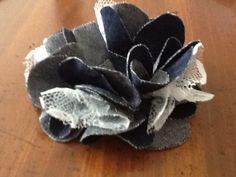 Denim & Lace Flower Pin Tutorial - Sewing Mamas Forums