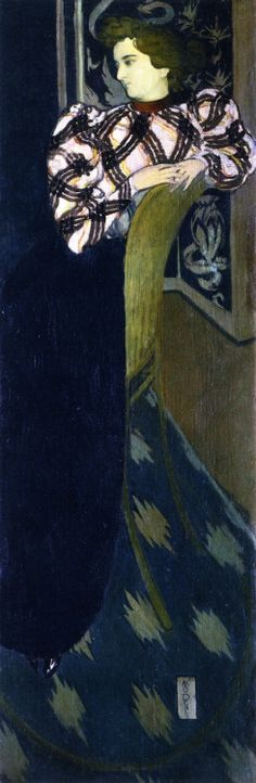 The Athenaeum - Portrait of Madam Ranson in Green (Maurice Denis - ) Maurice Denis, Pierre Bonnard, Edouard Vuillard, Felix Vallotton, Ashcan School, Art Français, Modern Art Movements, Impressionist Artists, Fauvism