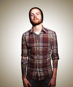 Awesome ginger beard and tattoos