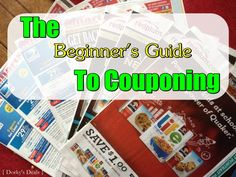 Step-by-Step Beginner's Guide to Couponing #couponing #couponcommunity #savemoney