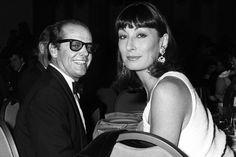Jack Nicholson and Anjelica Huston.El talento y la genialidad.Remember Price's honour.