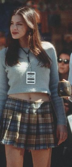 "Liv Tyler ""Empire Records"" - one of my style icons through high school"