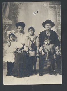 [RS 27464, Chin Quan Chan; Seattle District, Chinese Exclusion Act Case Files, Applications to Reenter, c. 1892-1900]: Chin Quan Chan Family, Chinese Exclusion Act Case File, circa 1911, by The U.S. National Archives, via Flickr