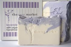 Lavender Handmade Soap Cold Process Soap Organic by TheSoapMarket, $7.00