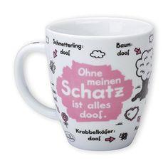 """Sheepworld 42622 Tasse """"Schatz"""""""