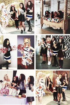 Little Mix at photoshoot. I bet photoshoots are harder than they look you know?