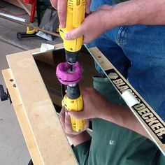"Use playdough to make a ""well"" for water to keep drill bits cool when drilling glass /mirrors"