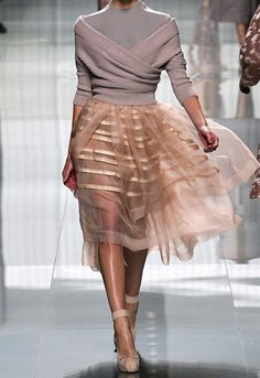 Christian Dior fall 2012 - Pretty Baillerinas