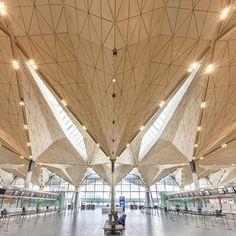 """""""Aeroporto de São Petersburgo #assimeugosto #arquitetura #archilovers"""""""