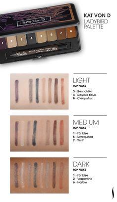 Kat Von D Ladybird Palette #Sephora #eyecandy I can't wait - her first matte palette!!!!! :D