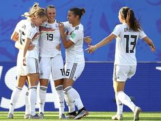 Germany beat Nigeria to enter 2019 Women's world cup quarterfinals World Cup Teams, Fifa Women's World Cup, Club World Cup, Play Soccer, 21 Years Old, Football Team, Sports News, Amazing Women, Olympics