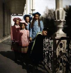 Olga, Tatiana, Maria, Anastasia, and Alexei Romanov