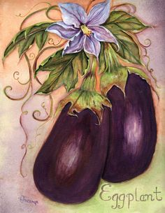 Rosemary Hozempa 5d Diamond Painting, Fruit Art, Drawing Skills, Easy Paintings, Kitchen Art, Fabric Painting, Botanical Illustration, Art Forms, Watercolor Art