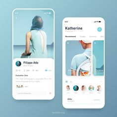 Design By Angelia Lee Use to get featured on the - Othe. Design By Angelia Ux Design, Clean Web Design, Flat Design, Design Layouts, Icon Design, Ui Design Mobile, Mobile Ui Patterns, Card Ui, App Design Inspiration