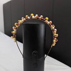 Pearl Headband, Crown Headband, Pearl Hair, Color Schemes Design, Handmade Hair Accessories, Unique Birthday Gifts, Handmade Headbands, Free Uk, Gifts For Women