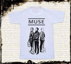 Size S  MUSE BAND T Shirts Muse T Shirts by cottonclick on Etsy, $17.00