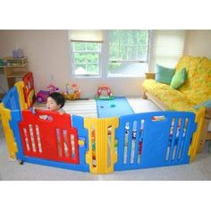 Little Playzone with Lights & Sound play yard