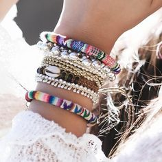 ❉ Boho bracelets ❉ ✒ Shop The Magic Now @ www.shopdixi.com // boho // bohemian // jewellery // jewelry // grunge // witchy // bracelet // opal // hippie // summer // ocean // beach //