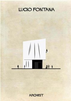 Gallery - ARCHIST: Illustrations of Famous Art Reimagined as Architecture - 28 - www.salfo.it -  mauro@salfo.it +39.339.78.54.440