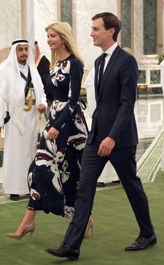 Melania Trump and Ivanka Trump Don Chic Looks in Saudi Arabia and Forgo Headscarves - https://blog.clairepeetz.com/melania-trump-and-ivanka-trump-don-chic-looks-in-saudi-arabia-and-forgo-headscarves/